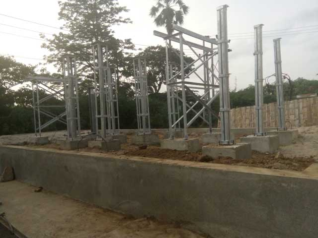 Installation steel structure